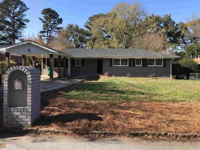 Decatur Single Family Home New: 3680 Brookcrest