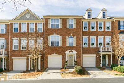 Roswell Condo/Townhouse For Sale: 2036 Merrimont Way