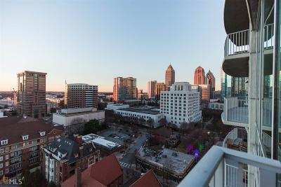 Metropolis Condo/Townhouse For Sale: 943 Peachtree St #1408