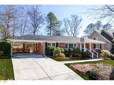 Decatur Single Family Home Under Contract: 2504 Tanglewood Rd
