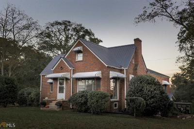 Social Circle Single Family Home New: 758 N Cherokee Rd