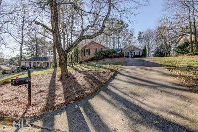 Roswell Single Family Home Under Contract: 1280 Land O Lakes Dr