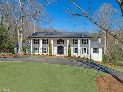 Roswell, Sandy Springs Single Family Home For Sale: 260 Tamer Ln