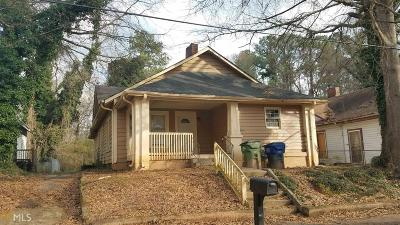 West End Single Family Home Under Contract: 910 Gaston St