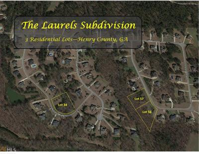 McDonough Residential Lots & Land For Sale: 1437 Swiftwater Cir #56