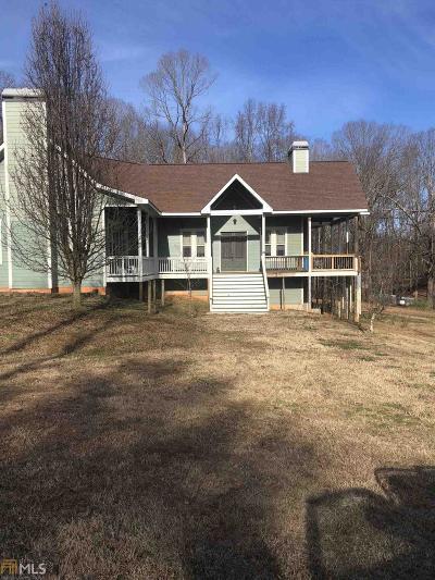 Cornelia Single Family Home New: 2175 Pea Ridge Rd