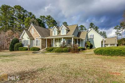 Newnan Single Family Home Under Contract: 75 O Dell Ridge