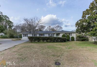 Smyrna Single Family Home Under Contract: 206 SW Hurt Rd