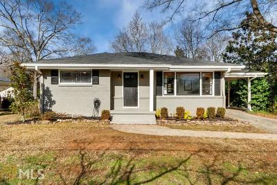 Smyrna Single Family Home New: 1185 Pinedale Dr