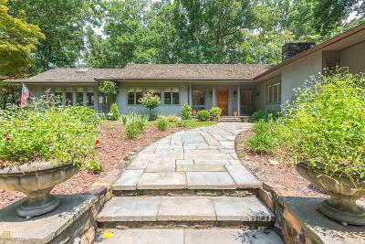 Kennesaw Single Family Home For Sale: 1371 Mossy Rock Rd