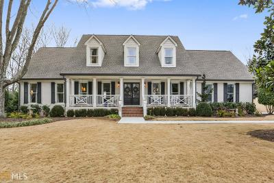 Roswell Single Family Home Under Contract: 290 Saddle Creek Ln