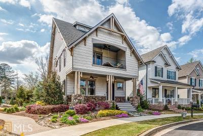 Woodstock Single Family Home New: 111 Mill Park Chase Park