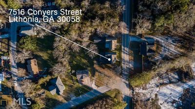 Lithonia GA Single Family Home New: $75,000