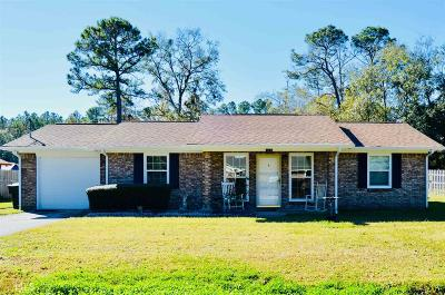 Kingsland GA Single Family Home Under Contract: $129,000