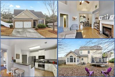 Acworth Single Family Home Under Contract: 5013 Centennial Commons Dr