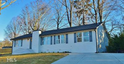 Flowery Branch  Single Family Home For Sale: 4723 Holland Dam Rd