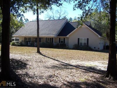 Brooklet Single Family Home New: 7357 Old River Rd S