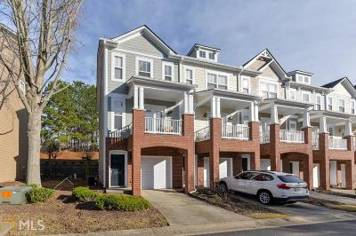 Alpharetta Condo/Townhouse Under Contract: 14113 Yacht Ter
