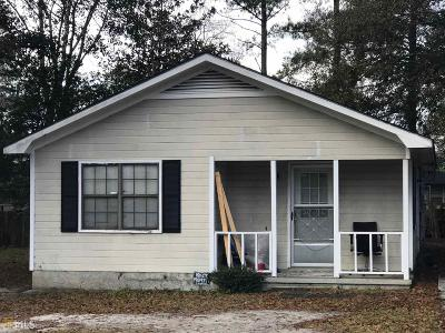 Statesboro Single Family Home For Sale: 5 Hunnicutt Dr