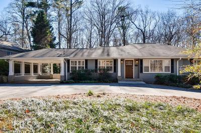 Decatur Single Family Home Under Contract: 1849 Mason Mill Rd