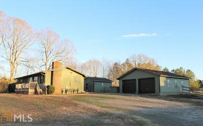 Winder Single Family Home New: 1356 Perry Sims Rd
