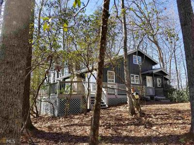 Rabun County Single Family Home Under Contract: 17 Aspen Ln