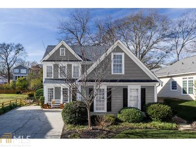 Decatur Single Family Home Under Contract: 414 Lockwood Ter