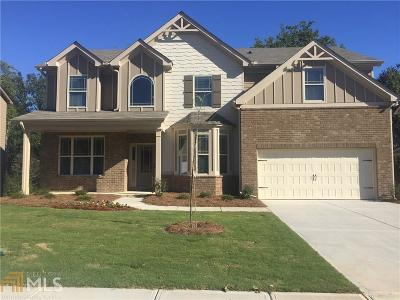Dacula Single Family Home New: 2716 Cove Vw Ct