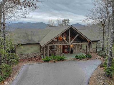 Rabun County Single Family Home Under Contract: 427 Smokehouse Knob