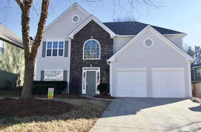 Kennesaw Single Family Home Under Contract: 2947 Monrovia