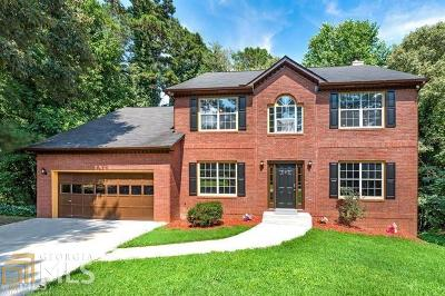 Stone Mountain Single Family Home For Sale: 490 Ravine Dr