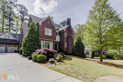Druid Hills Single Family Home For Sale: 509 S Westminster Way