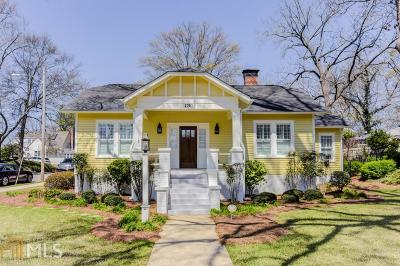 College Park Single Family Home Under Contract: 1981 Cambridge