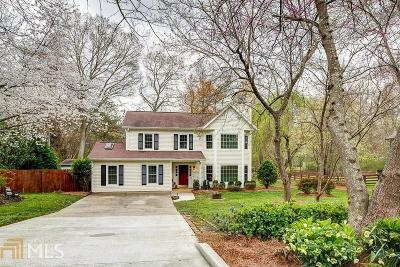 Alpharetta Single Family Home Under Contract: 3090 Maple Ln