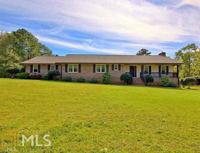 Newnan Single Family Home Under Contract: 1244 Country Club Rd