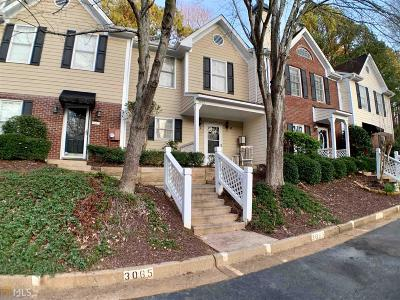 Alpharetta Condo/Townhouse For Sale: 3065 Camden Way