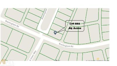 Douglasville Residential Lots & Land Under Contract: 9972 Brantingham Rd