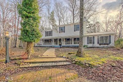 Clarkesville Single Family Home Under Contract: 254 Habersham Hollow Ln