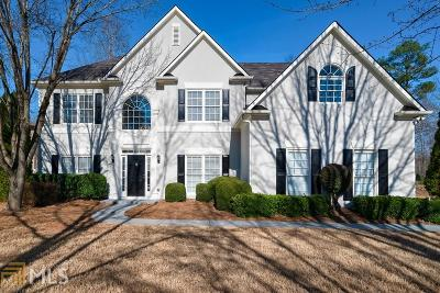 Alpharetta Single Family Home New: 2495 Clairview