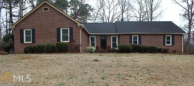 Conyers Single Family Home New: 3307 Sams Way