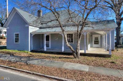 Cartersville Single Family Home Under Contract: 419 N Gilmer St