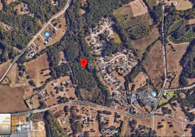 Dacula Residential Lots & Land For Sale: 3401 New Hope Rd