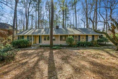Tucker Single Family Home For Sale: 2808 Henderson Rd