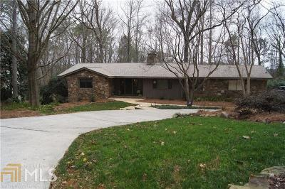 Sandy Springs Single Family Home Under Contract: 860 Edgewater Dr