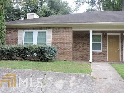 Clayton County Multi Family Home Under Contract: 1144 Summer Brook Rd #1144-114