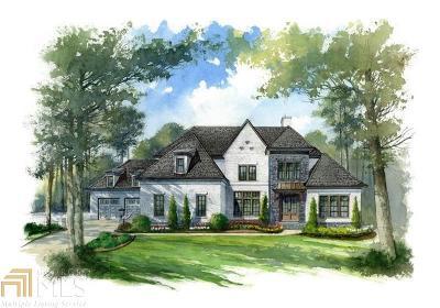 Alpharetta, Milton, Roswell Single Family Home For Sale: 10125 Cedar Ridge Dr