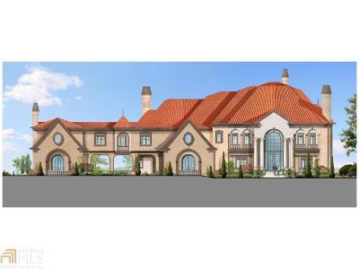 Roswell, Sandy Springs Single Family Home For Sale: 5700 Riverside Dr