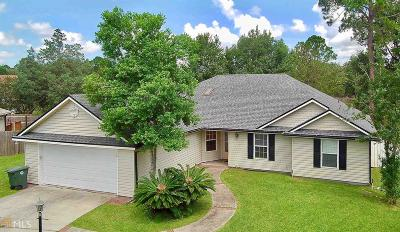 Kingsland GA Single Family Home Under Contract: $195,000