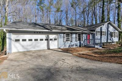 Marietta Single Family Home Under Contract: 3281 Melrose Dr