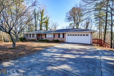 Smyrna Single Family Home New: 1618 Cooper Lake Rd